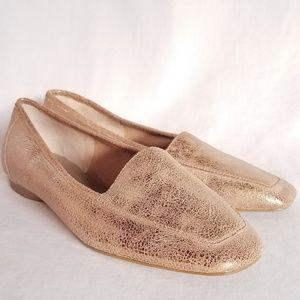 Donald J Pliner Deedee Bronze Metallic Loafer